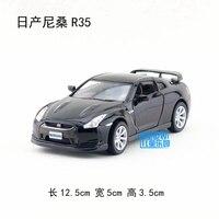 Yepyeni 1/36 ölçekli kt araba modeli toys japonya nissan r35 diecast metal araba oyuncak geri çekin için hediye/çocuklar/toplama/dekorasyon