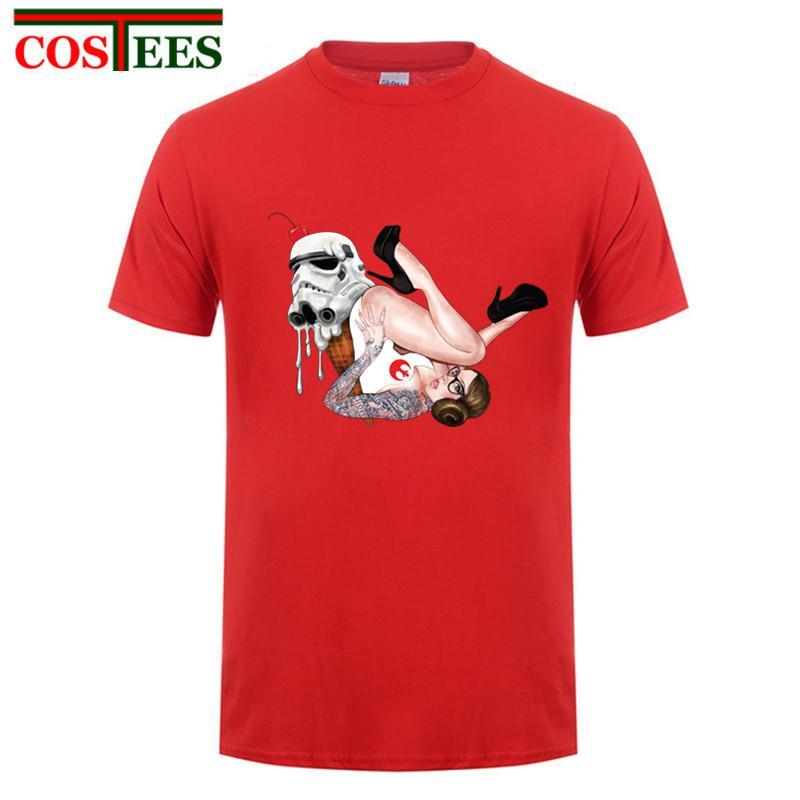 30deb4a3 Product name: 2018 hot Fashion star wars t shirts Yoda Darth Vader t-shirt  JEDI tshirt Man Casual sexy Tatto Leia Rebel Tee shirt Hiphop Tees