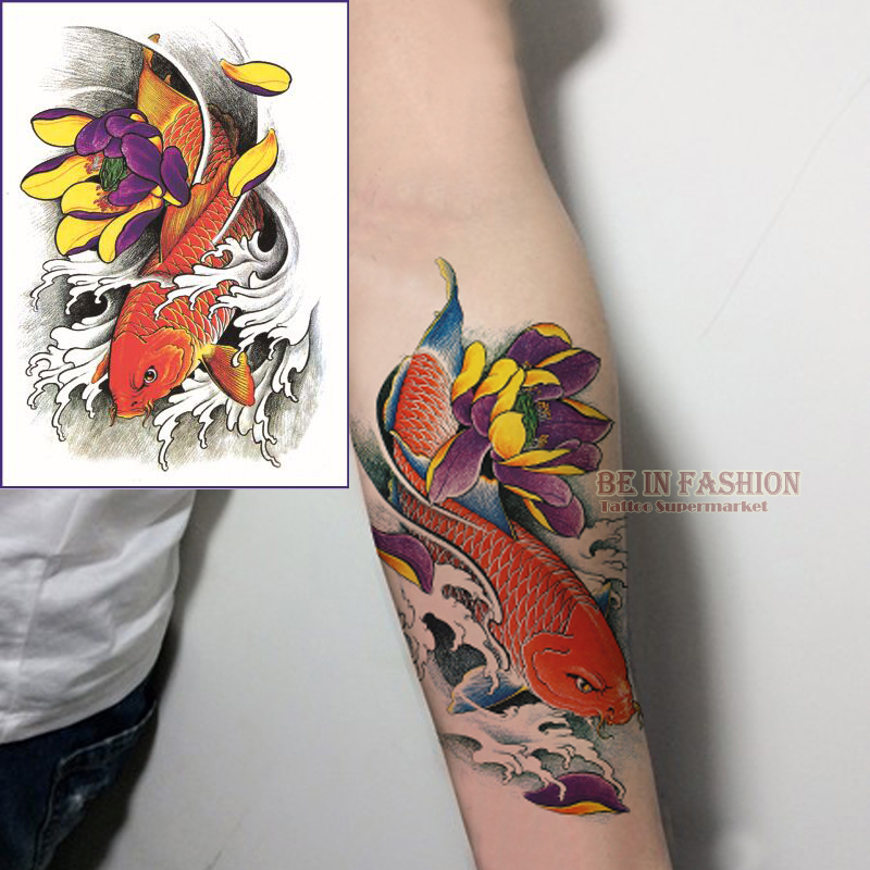 buy 1piece color fish design waterproof