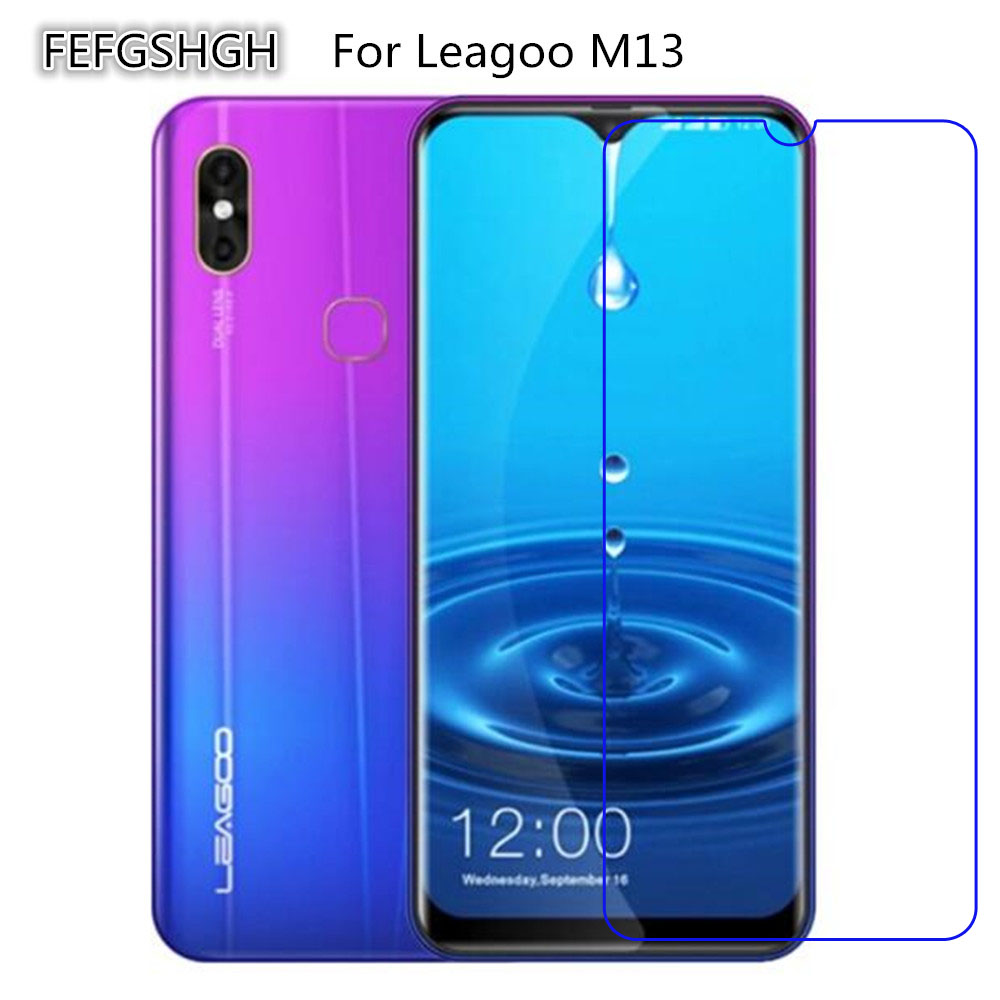 Tempered-Glass Protective-Film Leagoo M13 Screen-Protector for Explosion-Proof 2pcs