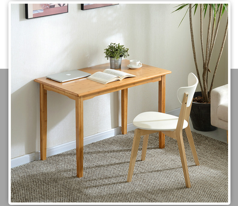 US $286.9 30% OFF|Simple office computer desk home desk small wooden table  simple modern desk office tables furniture on AliExpress