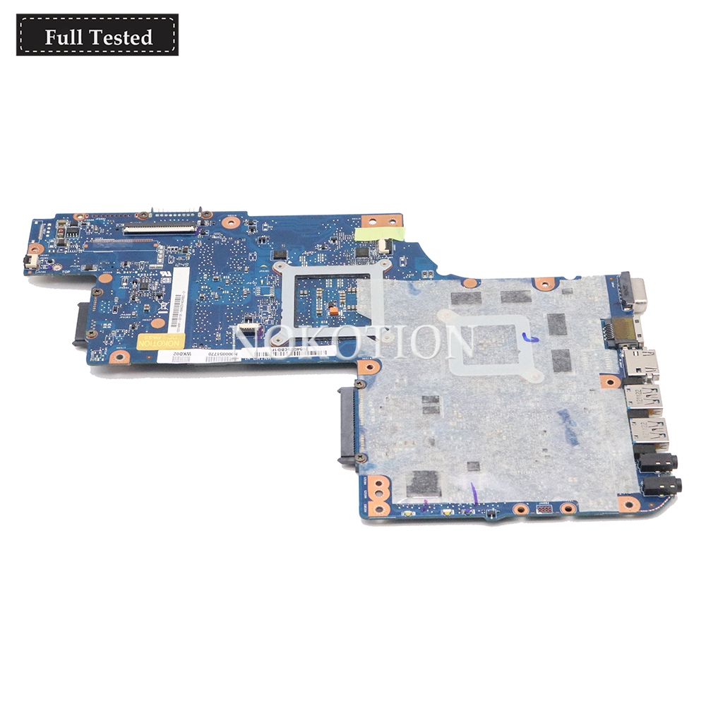 motherboard graphics NOKOTION H000051770 Main board For Toshiba Satellite C850 laptop motherboard HD7670M 2GB graphics memory DDR3 Full tested (5)