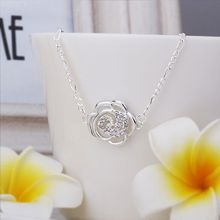 flower E131S# 2014 fashion sale silver -plated Brass bijoux vintage jewelry for men and women anklet