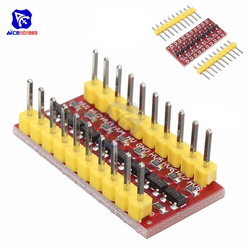 1 Pcs I2c Iic 8 Kanal Logic-level-converter Modul Bi-directional Modul Für Arduino Schritt Bis 3,3 V Zu 5 V HüBsch Und Bunt