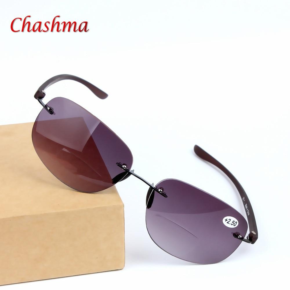 2016 г. Нови Gafas висококачествени двойни оптични очила за четене Мъжки жени Слънчеви очила с диоптри Oculs de grau