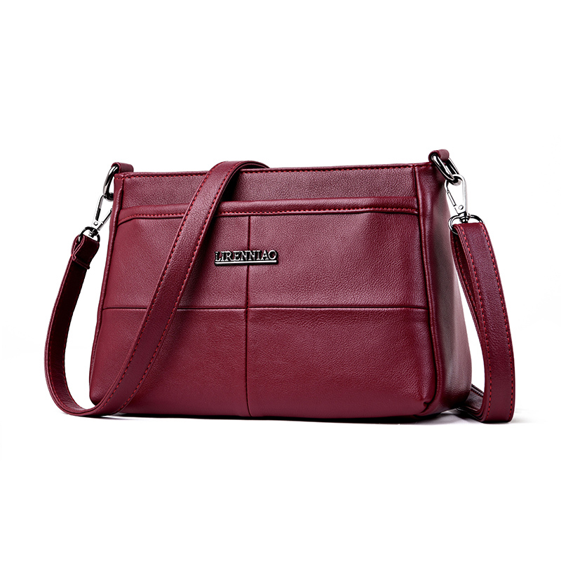 women 39 s genuine leather handbag small shoulder bags ladies luxury brand designer crossbody bags for women 2018 sac main femme in Shoulder Bags from Luggage amp Bags