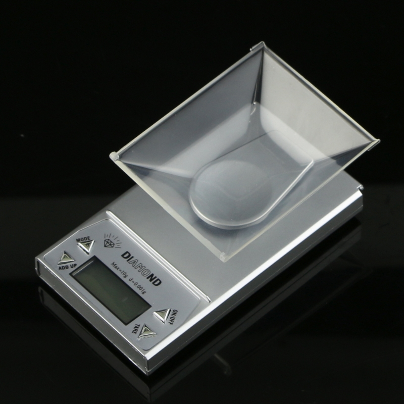 10g/0.001g Milligram Precision Digital Jewelry Diamond Scale Weight Balance Gram LCD Electronic Pocket Gold Jewelry Scale