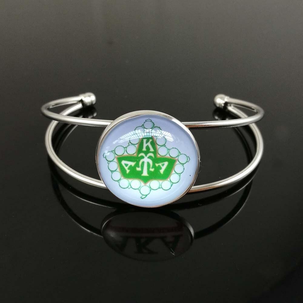 34d00277d3f5 Envío Directo joyería femenina personalizada Twist Green Square AKA pulsera