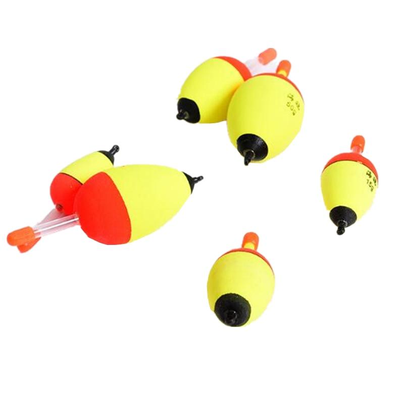 1Pcs 27-44mm 2.2-4.4g High Quality EVA Luminous Float Fish bait detector For high sensitivity Fishing Accessories Sport Tools