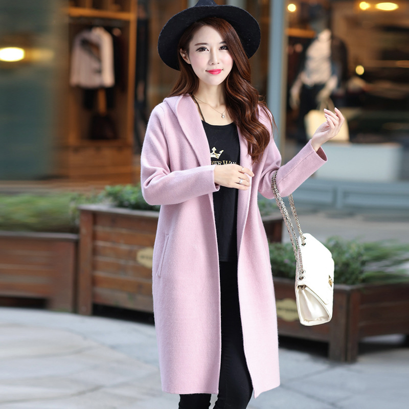 Clothing, Shoes & Accessories Womens Warm Button Up Knit Hooded Sweater With Pockets Cardigans Pullover Outwea Easy And Simple To Handle Coats & Jackets