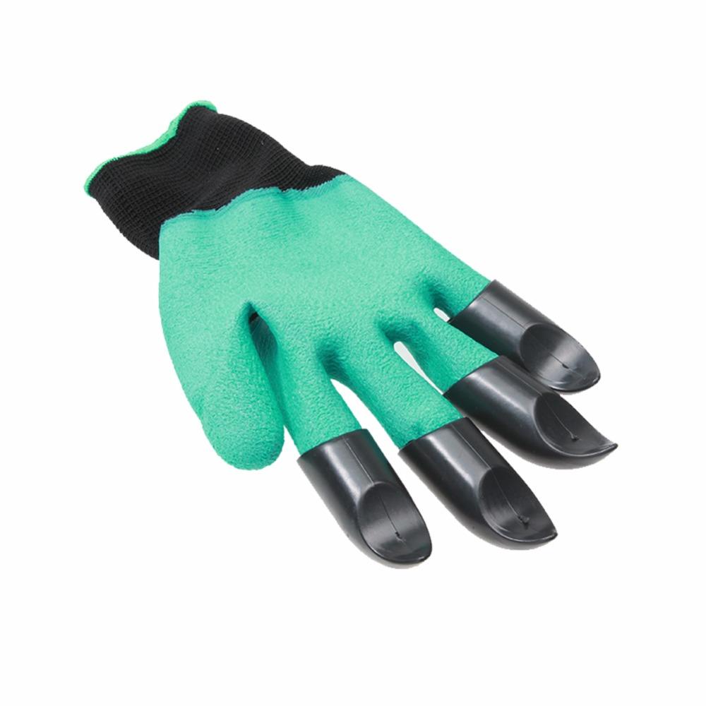 Latex-Builders-Garden-Genie-Gloves-With-Plastic-Claws-For-Dlanting-Gardening-Work-Glove-Garden-Household