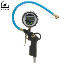 Car Vehicle Digital Air Tire Pressure Truck LCD Inflator Gauge Dial Meter Tester Manometer Measuring Instruments
