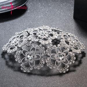 Женский модный Вуалетка с жемчугом, Серебряное украшение для волос, элегантные Винтажные белые свадебные аксессуары для волос