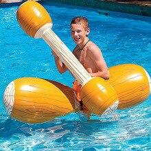 4 штуки, игровой поплавок для бассейна, надувные игрушки для бассейна, плавательный бампер, игрушка для взрослых, вечерние, Гладиатор, плот, гоночная лодка, водные виды спорта