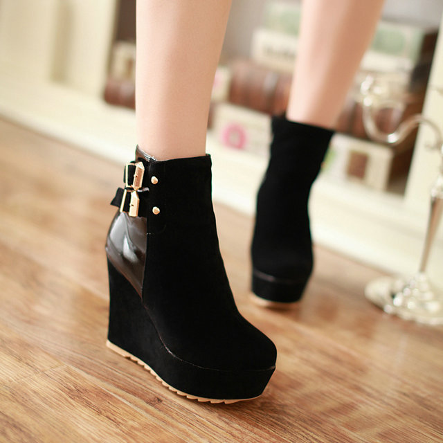 Online Get Cheap Wedge Booties for Women -Aliexpress.com | Alibaba