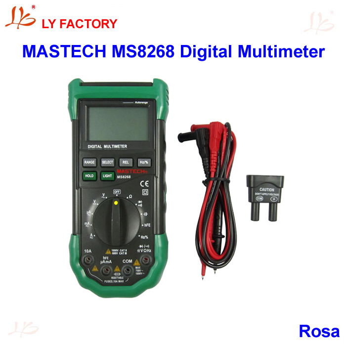 !!!  MASTECH MS8268 Digital Multimeter Autorange  мультиметр mastech ms8268