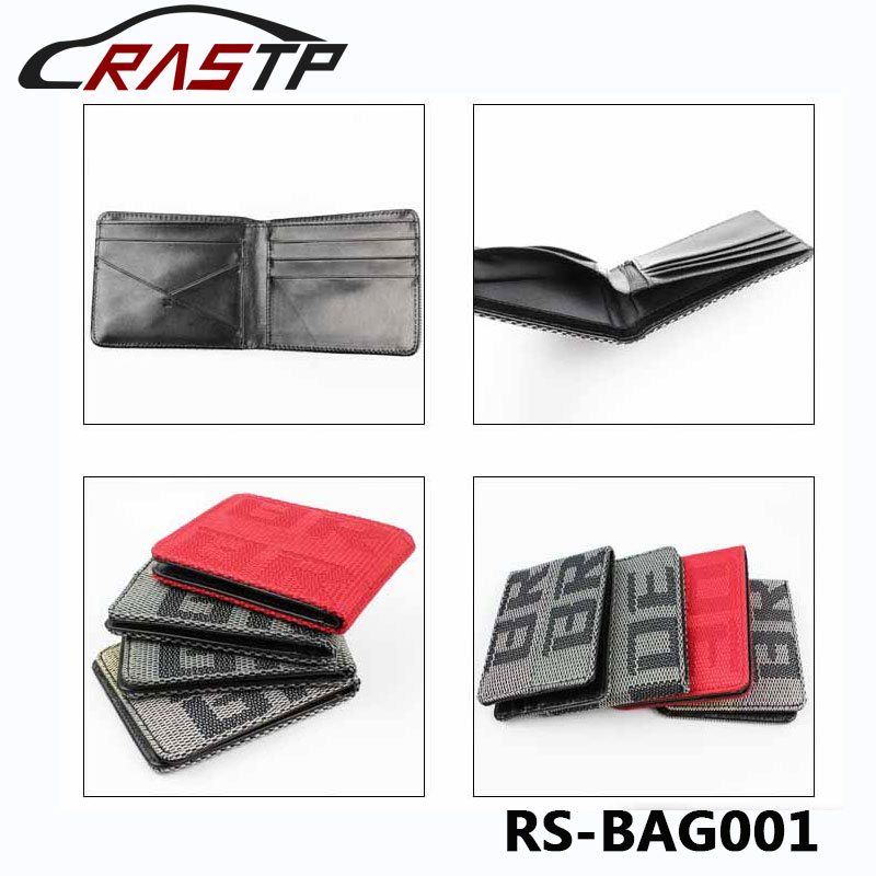 JDM Style 4 Styles Customized Bride Racing Fabric JDM Bride Wallet Money Clip RS-BAG001 e home bride 3040cm холст