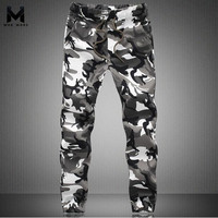 2015 New Spring Fashion Brand Men Pants Men Military Camouflage Pencil Pants Joggers Sweatpants Army Sport