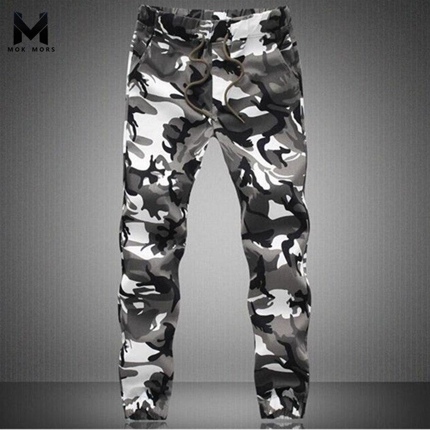 2017 New Spring Fashion Brand Men Pants Men Military Camouflage Pencil Pants Joggers Sweatpants Army sweatpan