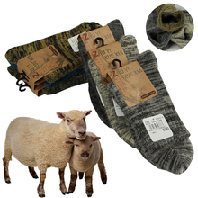 Stockings thicken essential wool comfortable socks real warm winter soft quality