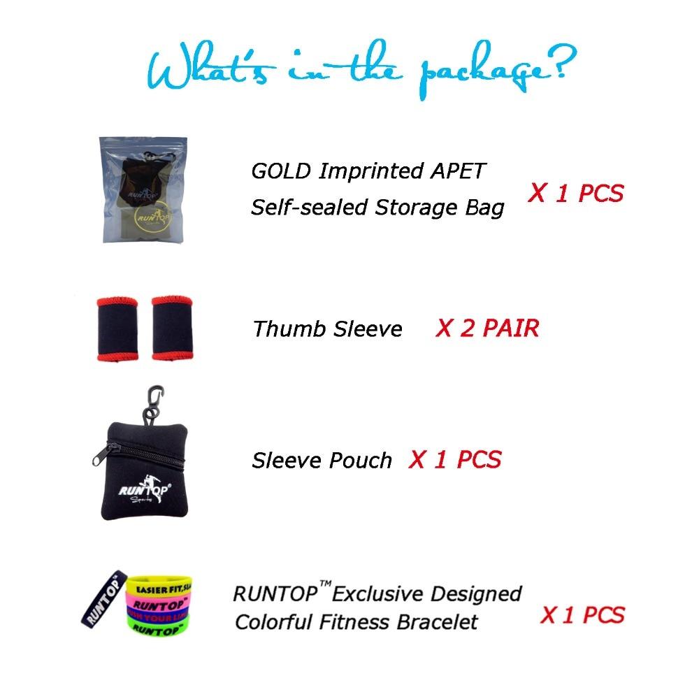 RUNTOP Finger Daumenhülsen Hakengriffschutz für Gewichtheben - Fitness und Bodybuilding - Foto 6