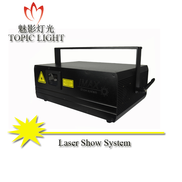 Professional high power single blue 2W stage and disco animation laser light