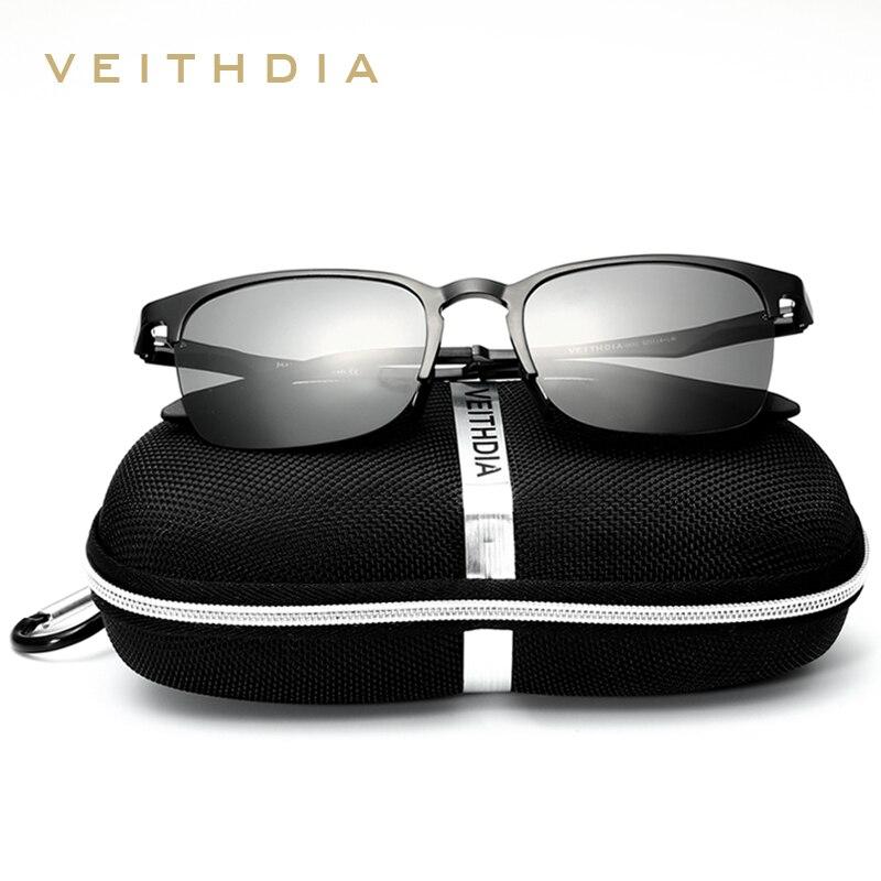 e3d569aa33 New VEITHDIA Brand Designer Aluminum Men Polarized Mirror Sun Glasses Male  Eyewears Accessories Sunglasses For Women