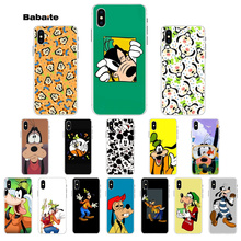 Babaite Goofy is in Mickey Mouse  Transparent Soft Shell Phone Cover for iPhone X XS MAX 6 6S 7 7plus 8 8Plus 5 5S XR case uyue 26 in 1 icorner kit for ipod ipad iphone 5 5s 6 6s 7 7plus 8 8plus corner sidewall bend fix frame repair