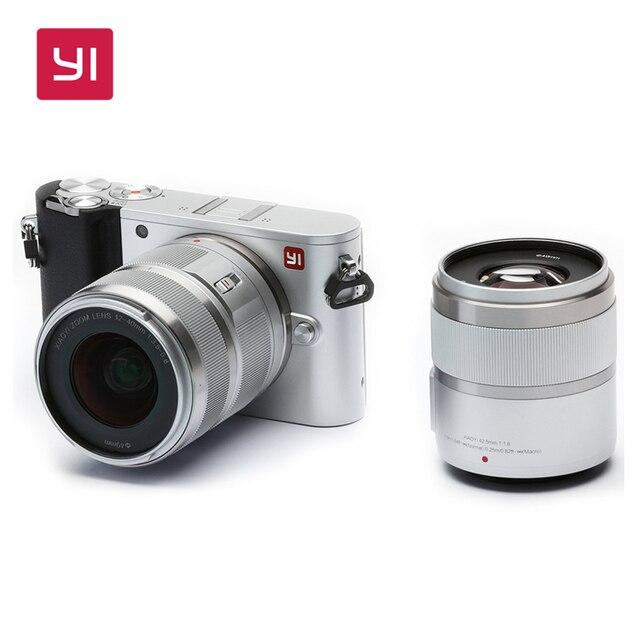 YI M1 Mirrorless Digital Camera With YI 12-40mm F3.5-5.6 Lens