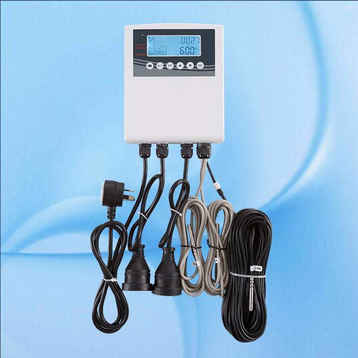 Australia Plug 240V Controller Of Solar Water Heater For Separated Pressurized Solar Hot Water System