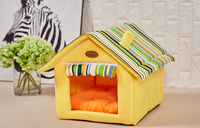 New Dog Cat Bed Puppy Houses for Teddy Bichon Poodle Chihuahua Sweet Pet Kennels Wholesaling