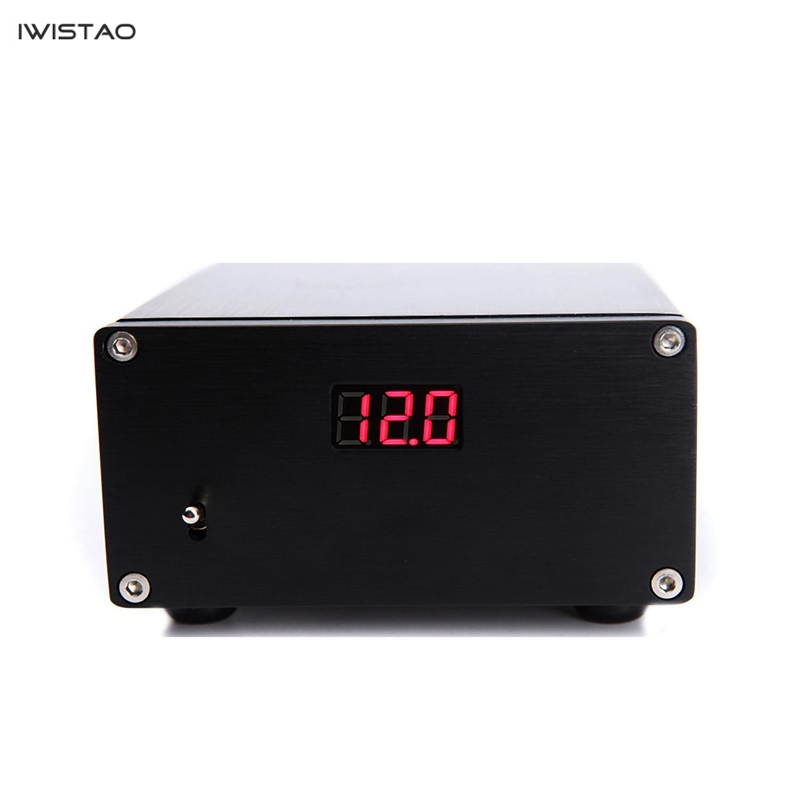 IWISTAO 50W HIFI Linear Power Supply for USB Amp DAC External Regulated Power Supply with Digital DisplayIWISTAO 50W HIFI Linear Power Supply for USB Amp DAC External Regulated Power Supply with Digital Display
