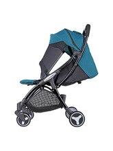 купить Lightweight Portable Folding Baby Strollers On Plane Yoya Hot Mom Baby Stroller Four Wheels Trolley Pink Stroller по цене 5130.38 рублей