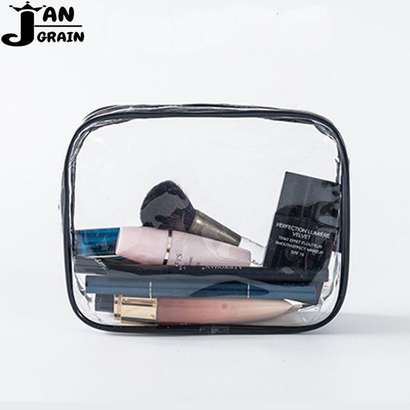 Transparent PVC Cosmetic Bag Wo