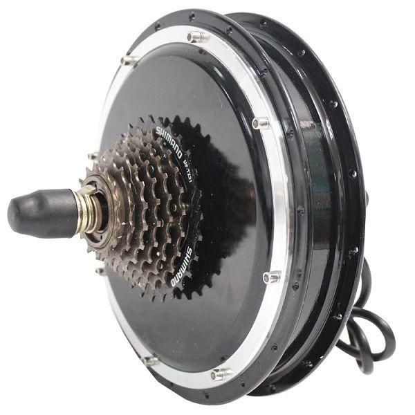 RisunMotor 36/48V 1000W eBike Threaded Rear Wheel Brushless Gearless Hub Motor risunmotor ebike 36v 48v 750w 20inch 24 26 28 29e 700c ebike brushless gearless rear hub motorized wheel for electric bicycle