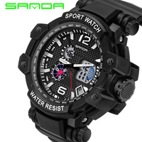 Big Dail Men S Luxury Analog Quartz Digital Watch Men G Style Waterproof Sports Military Watches