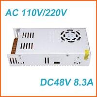 Voltage Transformer AC 110/220V to DC 48V 8.3A 400W Switch Power Supply for Led Strip