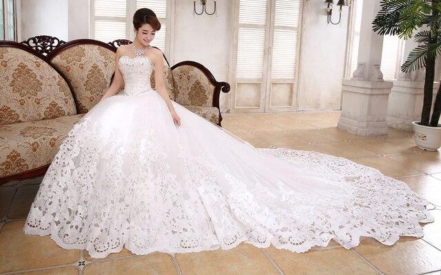 robe de mariage dernires conception robe de bal de mariage train robes de marie chrie de - Aliexpress Mariage