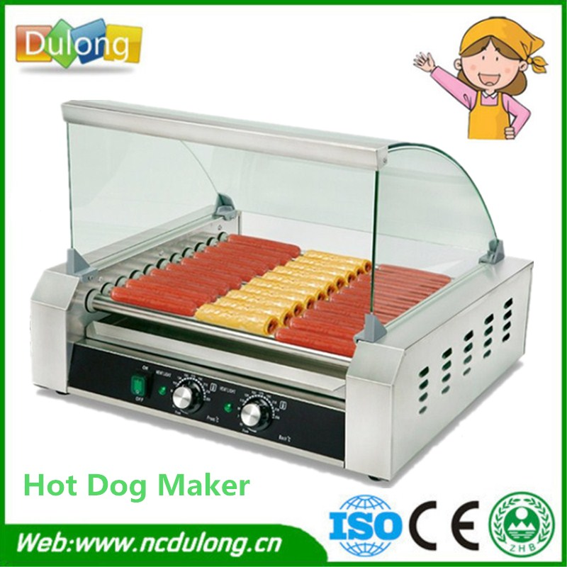 Automatic Stainless Steel Hotel Use Hot Dog Machines,Electric Hot Dog Machine,Commercial Hot Dog Maker automatic spanish snacks automatic latin fruit machines