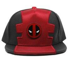 Мультяшный комикс герой Бэтмен Капитан Марвел Капитан Америка Звездные войны флэш Дэдпул хип-хоп шапки плоские шляпы регулируемые