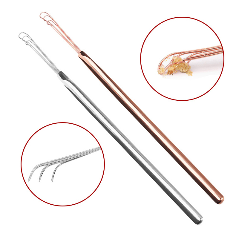 Sale Ear Pick Ear Cleaning Safety Dig Stainless Steel Cleaning Tools Portable Durable Ears Spoon Ear Care