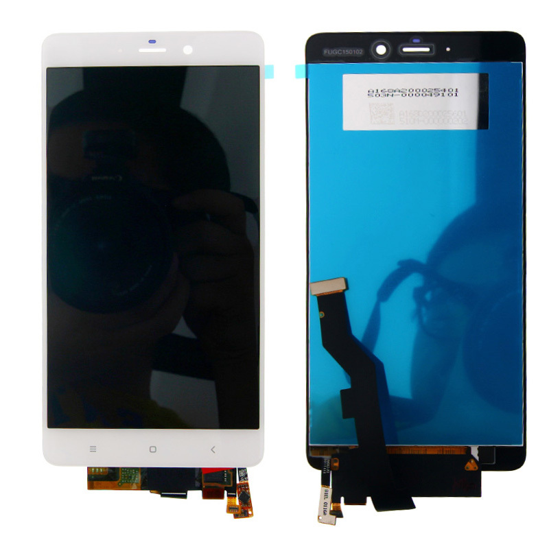 ФОТО New 5.7'' White LCD Display Touch Screen Digitizer Assembly For Xiaomi Mi Note Free Shipping