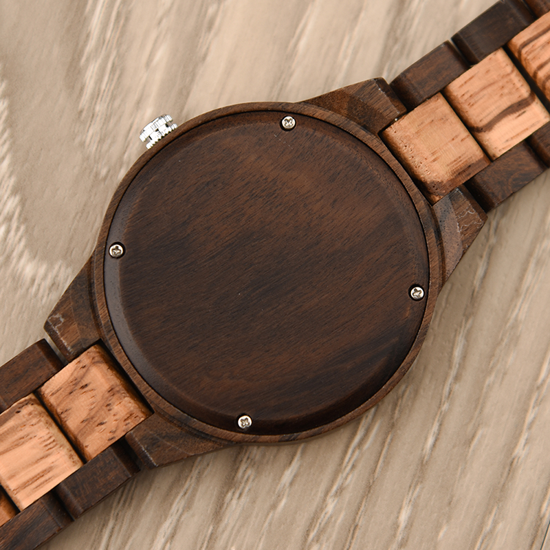 DODO DEER Vintage Green Dial Men Wood Watches Gift For Love Environmental Watch Wooden Watch Custom Logo Drop Shipping A08-7
