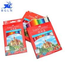 Faber-castell 36/48/72 Farben Klassische Schloss Fettige Farbe Bleistifte Set Ölgemälde Zeichnung Kunst Liefert Student Schreibwaren Schule