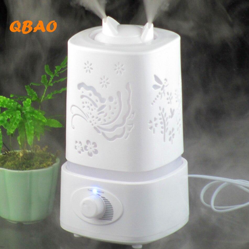 Ultrasonic Air Humidifier Aromatherapy 110-240V Led Lamp EU/USA Mist Fogger Essential Oil Diffuse Humidifier Aroma Diffuser