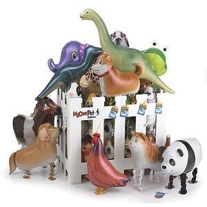 Image 4 - Ballons en feuille de marche, 20 pièces/lot, pour cadeau danniversaire, en animaux de ferme, livraison gratuite
