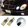 2x T10 W5W Canbus Carro LEVOU estacionamento Luz lâmpadas de apuramento para Mercedes Benz w124 w202 w204 c200 w203 w210 w211 w212 cia w205 w220