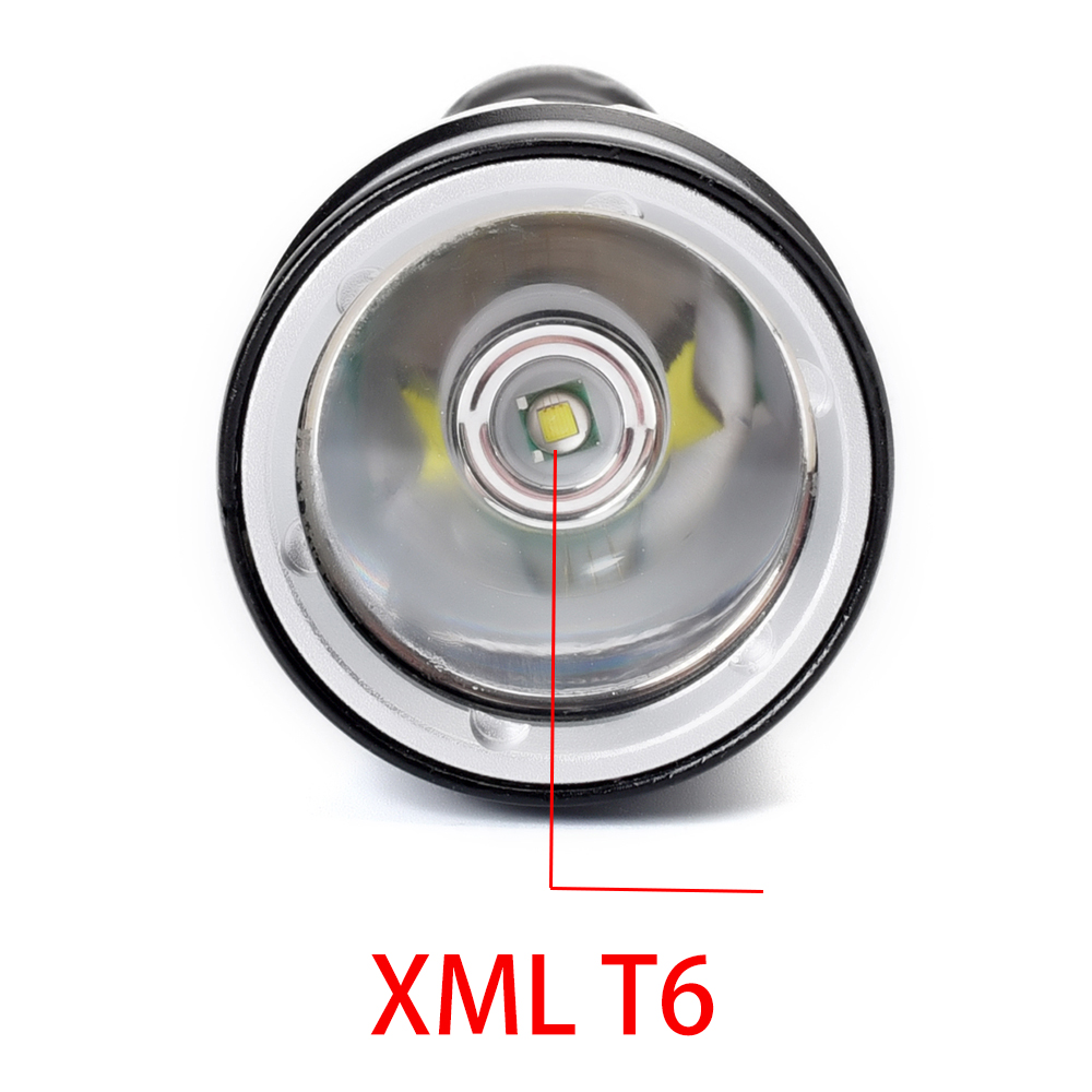 Waterproof Scuba LED Diving Flashlight Lamp XML T6 4000LM Powerful Underwater 100 Meter Dive Torch light Camping Lamp Lanterna