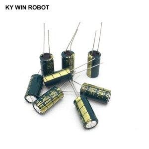 Image 5 - 10 pcs אלומיניום אלקטרוליטי קבלים 2200 uF 25 V 10*20mm frekuensi tinggi רדיאלי אלקטרוליטי kapasitor
