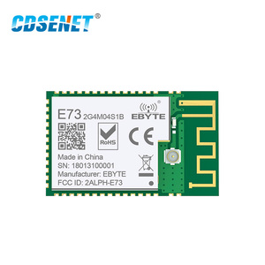 nRF52832 2.4GHz Transceiver Wireless rf Module CDSENET E73-2G4M04S1B SMD 2.4 ghz Ble 5.0 Receiver transmitter Bluetooth Module